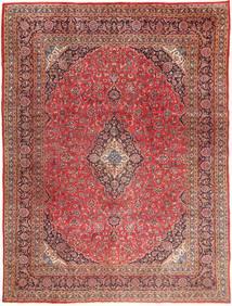 Meszhed Dywan 295X390 Orientalny Tkany Ręcznie Ciemnoczerwony/Jasnobrązowy Duży (Wełna, Persja/Iran)