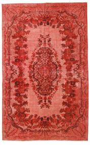 Colored Vintage Relief Dywan 180X290 Nowoczesny Tkany Ręcznie Rdzawy/Czerwony/Ciemnoczerwony (Wełna, Turcja)