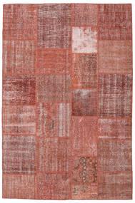 Patchwork Dywan 198X301 Nowoczesny Tkany Ręcznie Brązowy/Ciemnoczerwony (Wełna, Turcja)