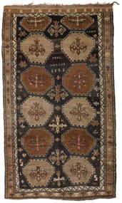 Herki Vintage Dywan 200X335 Orientalny Tkany Ręcznie Brązowy/Ciemnobrązowy/Czarny (Wełna, Turcja)