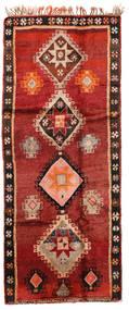 Herki Vintage Dywan 166X403 Orientalny Tkany Ręcznie Chodnik Ciemnoczerwony/Rdzawy/Czerwony/Ciemnobrązowy (Wełna, Turcja)