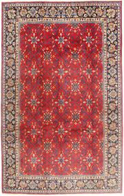 Nadżafabad Dywan 197X307 Orientalny Tkany Ręcznie Rdzawy/Czerwony/Ciemnobrązowy (Wełna, Persja/Iran)