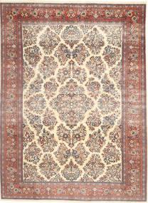 Saruk Patina Dywan 200X280 Orientalny Tkany Ręcznie Żółty/Ciemnobrązowy (Wełna, Persja/Iran)