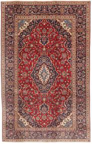 Keszan Patina Dywan 190X300 Orientalny Tkany Ręcznie Ciemnoczerwony/Ciemnobrązowy (Wełna, Persja/Iran)