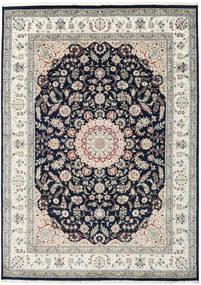 Nain Indie Dywan 250X348 Orientalny Tkany Ręcznie Jasnoszary/Ciemnoniebieski Duży ( Indie)