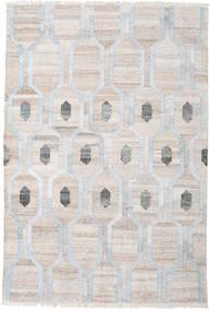 Dywan Zewnętrzny Cosmou - Jasny Niebieski Dywan 200X300 Nowoczesny Tkany Ręcznie Jasnoszary/Biały/Creme ( Indie)