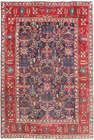 Tebriz Dywan 194X290 Orientalny Tkany Ręcznie Ciemnoczerwony/Beżowy (Wełna, Persja/Iran)