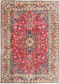 Tebriz Dywan 197X288 Orientalny Tkany Ręcznie Beżowy/Ciemnoszary (Wełna, Persja/Iran)