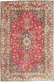 Tebriz Dywan 194X290 Orientalny Tkany Ręcznie Rdzawy/Czerwony/Ciemnoszary (Wełna, Persja/Iran)