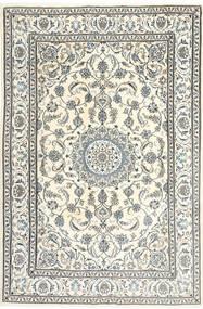 Nain Dywan 195X300 Orientalny Tkany Ręcznie Beżowy/Jasnoszary/Ciemnoszary (Wełna, Persja/Iran)