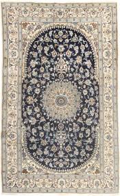 Nain Dywan 185X310 Orientalny Tkany Ręcznie Jasnoszary/Ciemnoszary (Wełna, Persja/Iran)