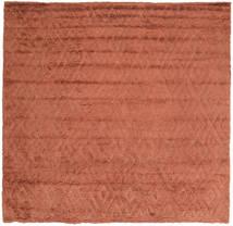 Soho Soft - Terracotta Dywan 250X250 Nowoczesny Kwadratowy Czerwony Duży (Wełna, Indie)