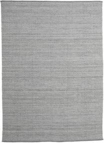 Alva - Ciemnoszary/White Dywan 250X350 Nowoczesny Tkany Ręcznie Jasnoszary/Ciemnoszary Duży (Wełna, Indie)