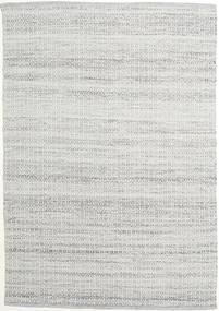Alva - Szary/White Dywan 160X230 Nowoczesny Tkany Ręcznie Jasnoszary (Wełna, Indie)