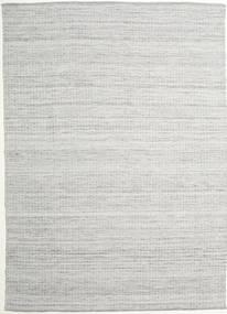 Alva - Szary/White Dywan 250X350 Nowoczesny Tkany Ręcznie Jasnoszary Duży (Wełna, Indie)