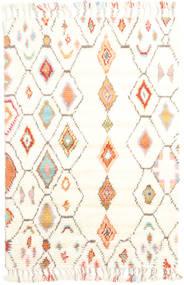 Hulda - Cream Dywan 120X180 Nowoczesny Tkany Ręcznie Beżowy/Biały/Creme (Wełna, Indie)