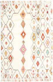 Hulda - Cream Dywan 160X230 Nowoczesny Tkany Ręcznie Beżowy (Wełna, Indie)