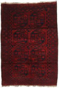 Afgan Khal Mohammadi Dywan 120X173 Orientalny Tkany Ręcznie Ciemnoczerwony (Wełna, Afganistan)