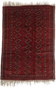 Afgan Khal Mohammadi Dywan 123X177 Orientalny Tkany Ręcznie Ciemnoczerwony (Wełna, Afganistan)