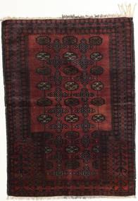 Afgan Khal Mohammadi Dywan 95X129 Orientalny Tkany Ręcznie Ciemnobrązowy/Ciemnoczerwony (Wełna, Afganistan)