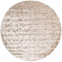 Crystal - Soft_Beige Dywan Ø 250 Nowoczesny Okrągły Biały/Creme/Jasnoszary Duży ( Indie)