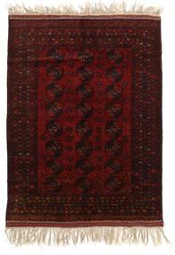 Afgan Khal Mohammadi Dywan 150X196 Orientalny Tkany Ręcznie Ciemnobrązowy/Ciemnoczerwony (Wełna, Afganistan)