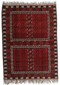 Afgan Khal Mohammadi Dywan 167X221 Orientalny Tkany Ręcznie Ciemnoczerwony/Jasnoszary (Wełna, Afganistan)