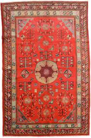 Samarkand Vintage Dywan 161X250 Orientalny Tkany Ręcznie Rdzawy/Czerwony/Ciemnoczerwony (Wełna, Chiny)
