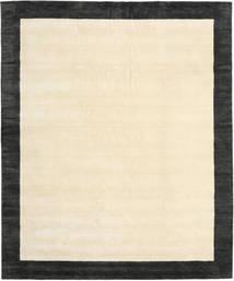 Handloom Frame - Czarny/White Dywan 250X300 Nowoczesny Beżowy/Ciemnoszary Duży (Wełna, Indie)