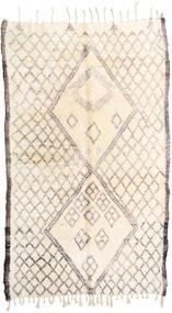 Berber Moroccan - Beni Ourain Dywan 187X310 Nowoczesny Tkany Ręcznie Beżowy/Jasnoszary (Wełna, Maroko)