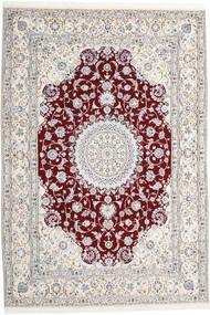 Nain 9La Dywan 247X368 Orientalny Tkany Ręcznie Jasnoszary/Beżowy (Wełna/Jedwab, Persja/Iran)