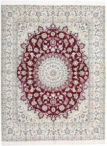 Nain 9La Dywan 198X258 Orientalny Tkany Ręcznie Jasnoszary/Beżowy (Wełna/Jedwab, Persja/Iran)