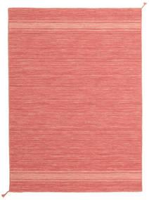 Ernst - Coral/Light_Coral Dywan 140X200 Nowoczesny Tkany Ręcznie Jasnoróżowy/Czerwony (Wełna, Indie)
