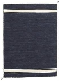 Ernst - Navy/Kość Słoniowa Dywan 140X200 Nowoczesny Tkany Ręcznie Ciemnoniebieski/Ciemnoszary (Wełna, Indie)