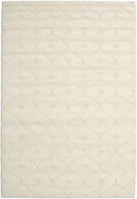 Romby - Off-White Dywan 200X300 Nowoczesny Tkany Ręcznie Beżowy/Ciemnobeżowy (Wełna, Indie)