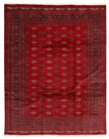 Pakistański Bucharski 3Ply Dywan 241X306 Orientalny Tkany Ręcznie Ciemnoczerwony/Czerwony (Wełna, Pakistan)