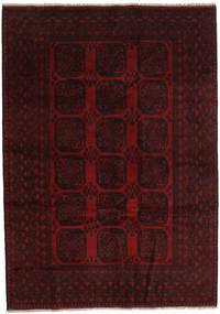 Afgan Dywan 203X286 Orientalny Tkany Ręcznie Ciemnoczerwony (Wełna, Afganistan)