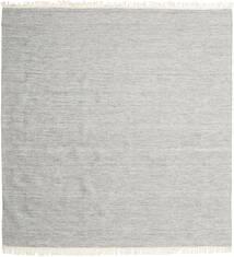 Melange - Szary Dywan 300X300 Nowoczesny Tkany Ręcznie Kwadratowy Jasnoszary Duży (Wełna, Indie)