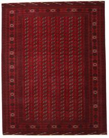 Turkmeński Patina Dywan 305X390 Orientalny Tkany Ręcznie Ciemnoczerwony/Ciemnobrązowy Duży (Wełna, Persja/Iran)