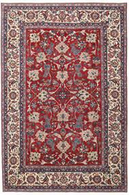 Jazd Patina Dywan 200X300 Orientalny Tkany Ręcznie Jasnoszary/Ciemnoczerwony (Wełna, Persja/Iran)