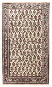 Tebriz Patina Dywan 80X137 Orientalny Tkany Ręcznie Beżowy/Ciemnoszary (Wełna, Persja/Iran)