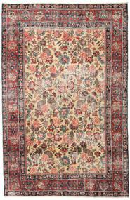 Meszhed Patina Dywan 185X285 Orientalny Tkany Ręcznie Jasnobrązowy/Ciemnoszary (Wełna, Persja/Iran)
