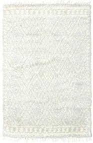 Barchi/Moroccan Berber - Indie Dywan 156X241 Nowoczesny Tkany Ręcznie Beżowy/Biały/Creme (Wełna, Indie)