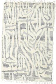 Barchi/Moroccan Berber - Indie Dywan 153X235 Nowoczesny Tkany Ręcznie Jasnoszary/Biały/Creme/Beżowy (Wełna, Indie)