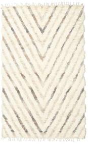 Barchi/Moroccan Berber - Indie Dywan 154X250 Nowoczesny Tkany Ręcznie Beżowy/Biały/Creme (Wełna, Indie)