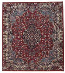 Meszhed Patina Dywan 250X283 Orientalny Tkany Ręcznie Ciemnoczerwony/Ciemnoszary Duży (Wełna, Persja/Iran)