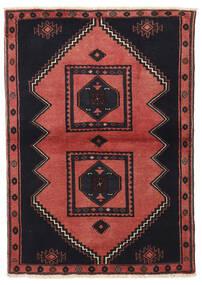 Kelardaszt Dywan 103X149 Orientalny Tkany Ręcznie Czarny/Ciemnoczerwony (Wełna, Persja/Iran)