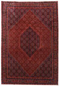Bidżar Zanjan Dywan 253X365 Orientalny Tkany Ręcznie Ciemnoczerwony/Czarny Duży (Wełna, Persja/Iran)