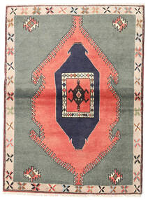 Kelardaszt Dywan 105X140 Orientalny Tkany Ręcznie Ciemnoszary/Jasnoróżowy (Wełna, Persja/Iran)