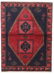 Kelardaszt Dywan 105X140 Orientalny Tkany Ręcznie Czarny/Czerwony (Wełna, Persja/Iran)